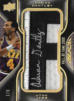 ADRIAN DANTLEY / Hall of Fame 2008 - No. HOF-AD  (#d 1/6)