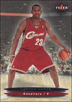 LEBRON JAMES / Fleer Rookie - No. 171