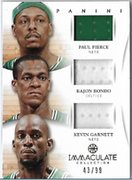 PIERCE RONDO GARNETT / Triple Jersey - No. 11  (#d 43/99)