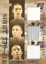 NASH MARION STOUDEMIRE / Tip-Off Trios - No. TT-PS  (#d 61/75)