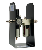 Filter lubricator portable pipe beveling machine