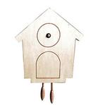 Relojes de madera para decorar con pintura o decoupage