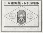 Scheuer, ca 1933