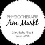 Physiotherapie Am Markt - Schöneweide - Logo