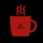 Icon Teetasse mit frischem Tee