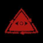 Icon mit Nachhaltigkeits-Logo