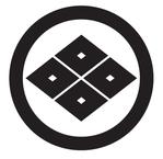 家紋「丸に四つ目菱」