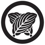 家紋「丸に違い柏」
