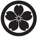 家紋「丸に山桜」