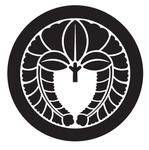 家紋「丸に下り藤」