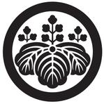 家紋「丸に五三の桐」
