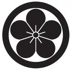 家紋「丸に梅の花」