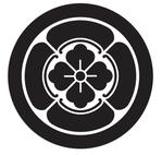家紋「丸に四方木瓜」