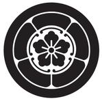 家紋「丸に五瓜唐花」
