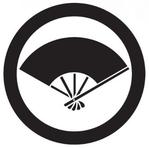 家紋「丸に五本骨扇」