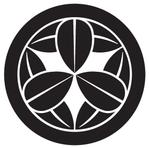家紋「丸に九枚笹」