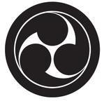 家紋「丸に左三つ巴」