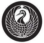 家紋「丸に鶴の丸」