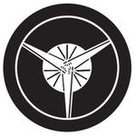家紋「丸に三つ扇」