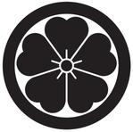 家紋「丸に桜」