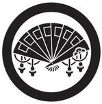 家紋「丸に檜扇」