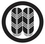 家紋「丸に並び鷹の羽」