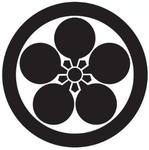 家紋「丸に変り梅鉢」