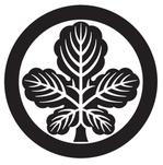 家紋「丸に梶の葉」