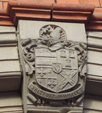 Aston Urban District Council coat-of-arms at Aston Library