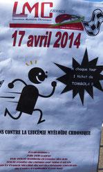 LMC FRANCE LYCEE JACQUES BREL LYON COURSE CONTRE LEUCEMIE MYELOIDE CHRONIQUE 2014 recherche Docteur franck nicolini