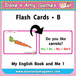 EFL flashcards, kindergarten flashcards
