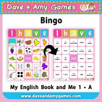 EFL kindergarten bingo