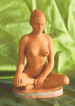 serénité sculpture argile femme nue nouveausculpteur magne sculpture