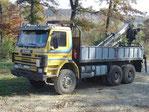 Scania 113H mit Ladekran