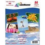 100 Blatt LabelHeaven Fotopapier A4 180g qm hochglänzend wasserfest