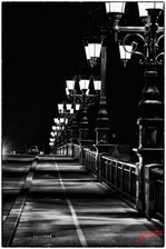 Eclairage du pont de pierre
