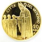 K22 22金 20ユーロ 金貨 コイン バチカン 2006年