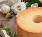 ホワイトむくいまいさん卵無施肥米粉シフォンケーキ