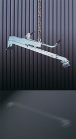 Pinza mecánica para bordillos