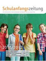 Titelblatt der Schulanfangszeitung