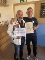 Luciano Scialpi wird zum Ehrenmitglied ernannt