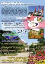Greiz Greizer Park Vogtland Pauschalangebot Gruppenangebot Mittagessen Stadtführung Sommerpalais