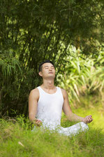 Meditation will lower stress which will lower cholesterol levels