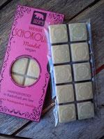 Weiße vegane Schokolade