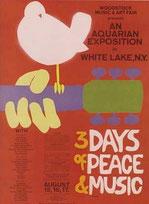 Affiche du festival de Woodstock (DR)