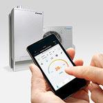 Telefoon app nu ook voor Daikin Altherma-Hybride
