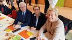 v.l.n.r.: Frank-Peter Wieth, Andrea Pankau, Ingrid Petzold