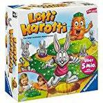Ravensburger Kinderspiel Lotti Karotti - 21556 Das lustige Brettspiel für die ganze Familie