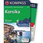 Korsika Wanderführer mit Extra-Tourenkarte, 80 Touren, GPX-Daten zum Download. (KOMPASS-Wanderführer, Band 5939)