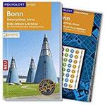 POLYGLOTT on tour Reiseführer Bonn Siebengebirge Ahrtal Mit großer Faltkarte, 80 Stickern und individueller App